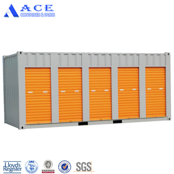 Insulated 20 Foot Storage Shipping Containers
