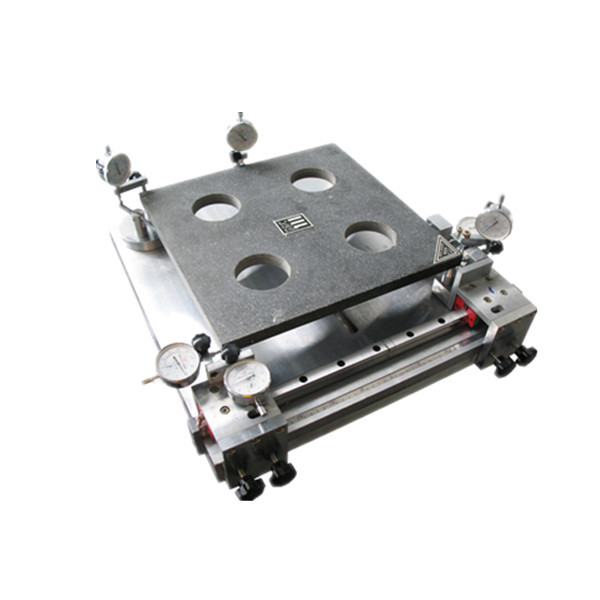 TZY Floor tile surface flatness, squareness, warpage centre, rectangularity, straightness tester