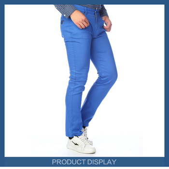 New Design Brand Men Jeans Pants Sky Blue Men Fancy Jeans - Buy ...