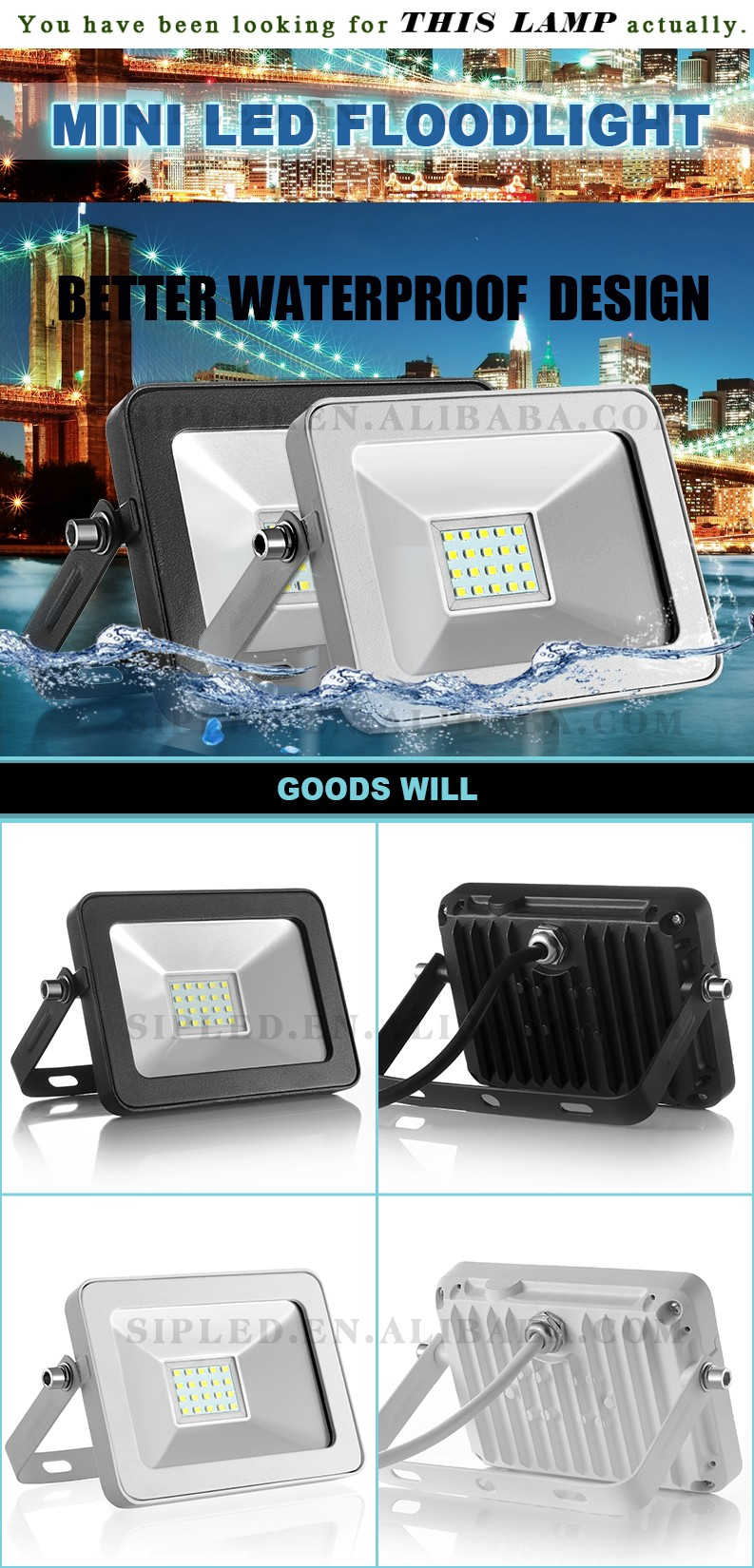 Wholesale Best price 20w led flood light 30 watt ultra slim 10w ...