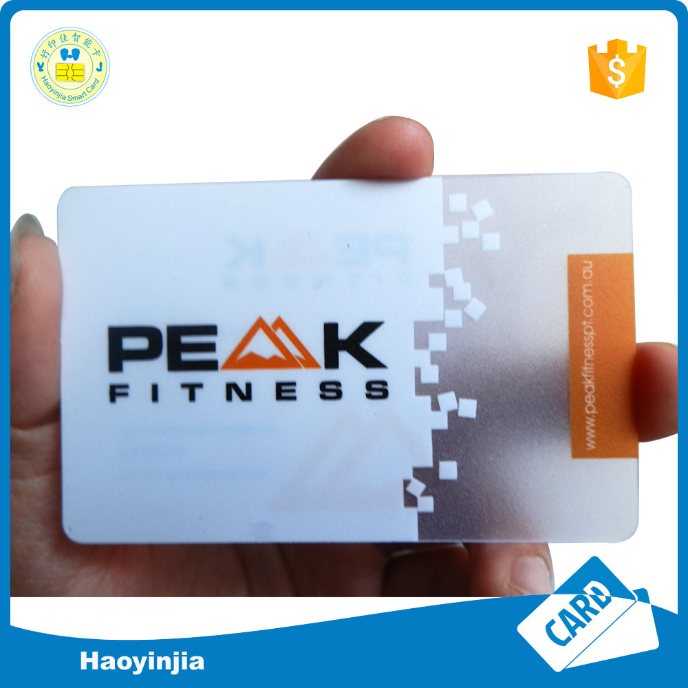 Blank Plastic Business Cards