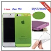 2014 New product 0.5mm ultra thin cell phone case for iphone5s,for iphone5s cell phone case