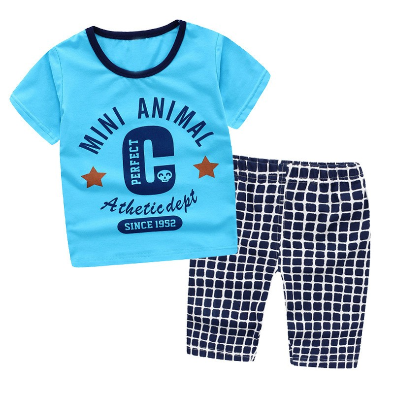 Latest Design Kids Wear 3-8 Years Old Fashion Cotton Grey Or Blue ...
