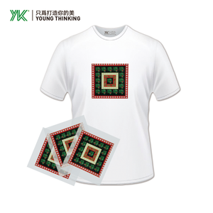 Custom High Quality Plastisol Offset T-shirt Heat Transfer Large Sticker Sheet Printing