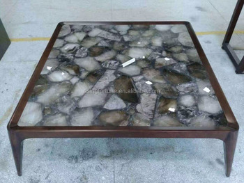 Agate Slice Side Table Tops