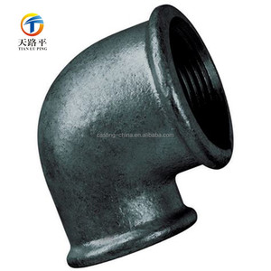 OEM Cast stainless steel Carbon Steel pipe fittings 90 120 degree elbow