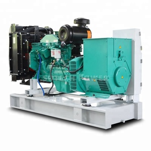 Stamford alternator 100kva diesel genset price 80kw diesel generator price with Cummins engine 6BT5.9-G1