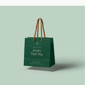shoes customized logo matte/glossy laminated paper bag