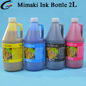 NEW 2 Liter Bottle Mimaki CS100 Eco Solvent Ink for SWJ320 Printer