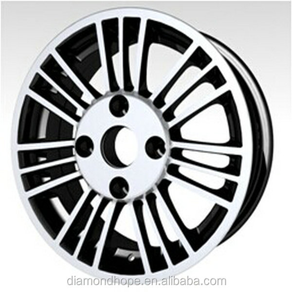 car cheap rims and tires 195/50r15 made in china hot sale all over the world(ZW-P088)