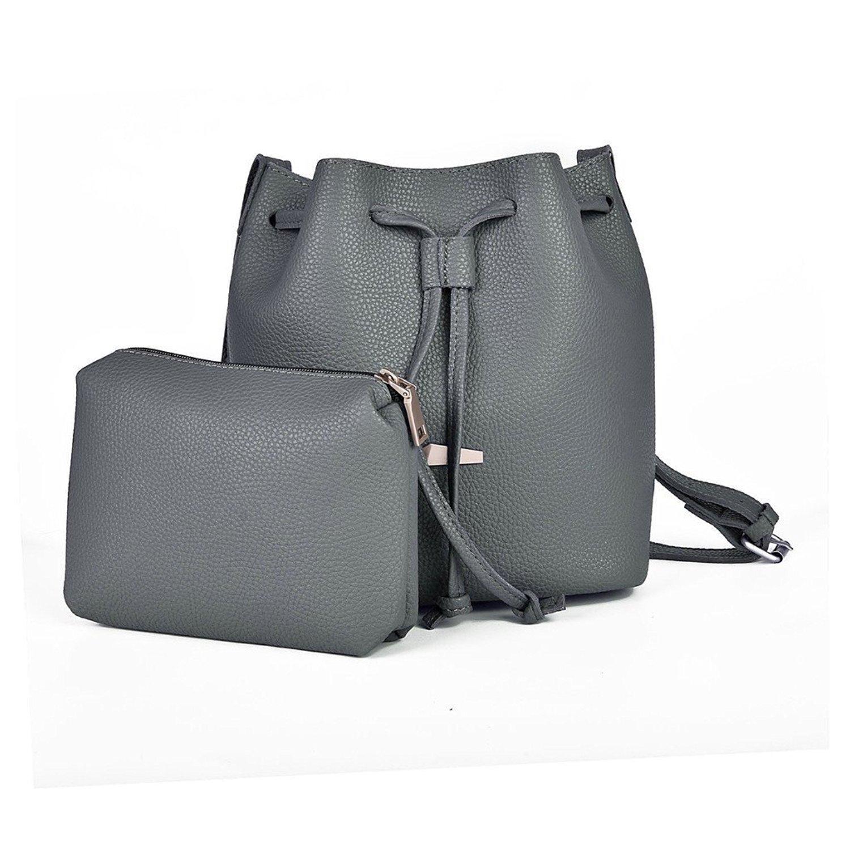 a4e7d31bd Get Quotations · Kroeus Women's Bucket Bag Bucket Tote Bag Drawstring  Crossbody Bucket Bag