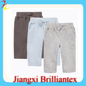 2014 Latest Soft Free Crochet Warm Fleece Winter Baby Pants