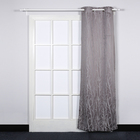 branch printed living room blackout curtain fireproof blackout iran decorative curtains for home