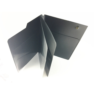 Chinese manufacturing companies SGS PP material custom a4 presentation book with multi-pocket