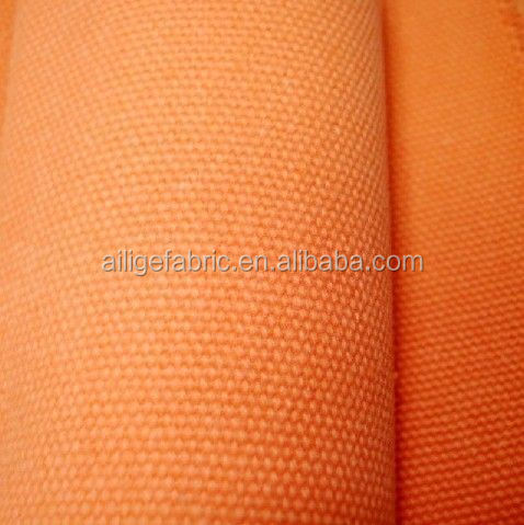 Poly cotton canvas fabric to make tent waterproof canvas fabric