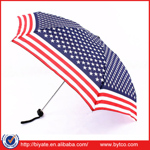 USA New Super Mini Compact 5 Folding Rain Umbrella for Women