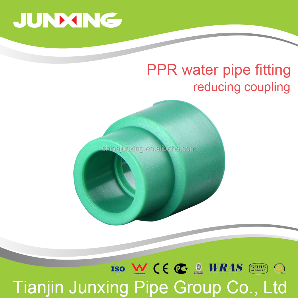 polypropylene plastic reducing coupler fittings /ppr reduction