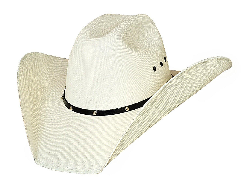 Justin Moore Montecarlo Bullhide Hats Double Barrel Ace Western 50X  Manhatten Straw Cowboy Hat (7 1 8) 828341aca619