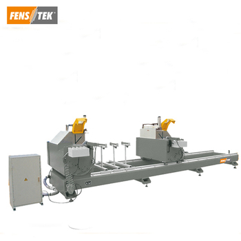 pvc windows machinery double head cutting machine