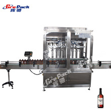 Servo motor driven type automatic syoss shampoo filling machine