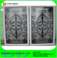 Wholesale Decorative Wrought Iron Security Window Inserts