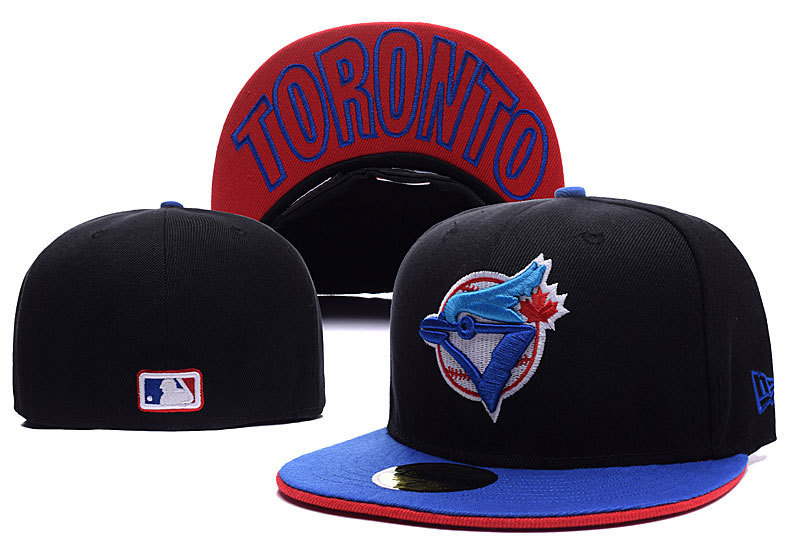 53671f6ca65ce Get Quotations · Toronto Blue Jays Hat Men s full Closed Toronto Blue Jays  fitted hat sport team casquette baseball