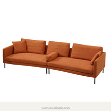 Modern Long Four Seaters Sofa Set Big Chaise From China Big Factory  Manufacture