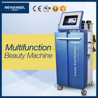 CE approved vacuum liposuction rf skin lifting laser cavitation fat system ls650