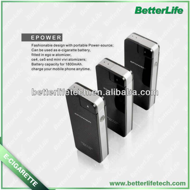 Shenzhen epower E Cigarette with 1800mAh PCC