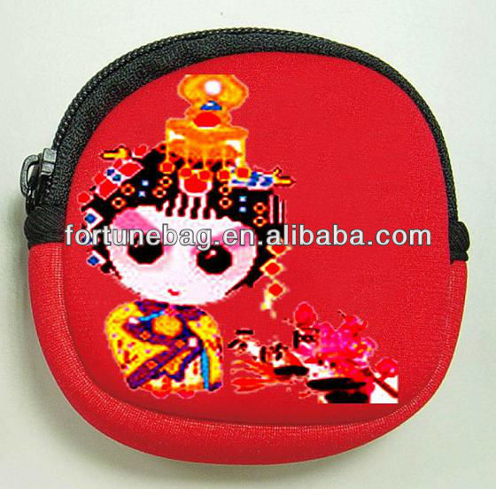 Beijing opera ladies beautiful wallets