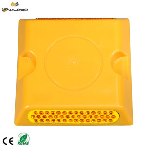 Cat eye factory low price plastic yellow square road stud
