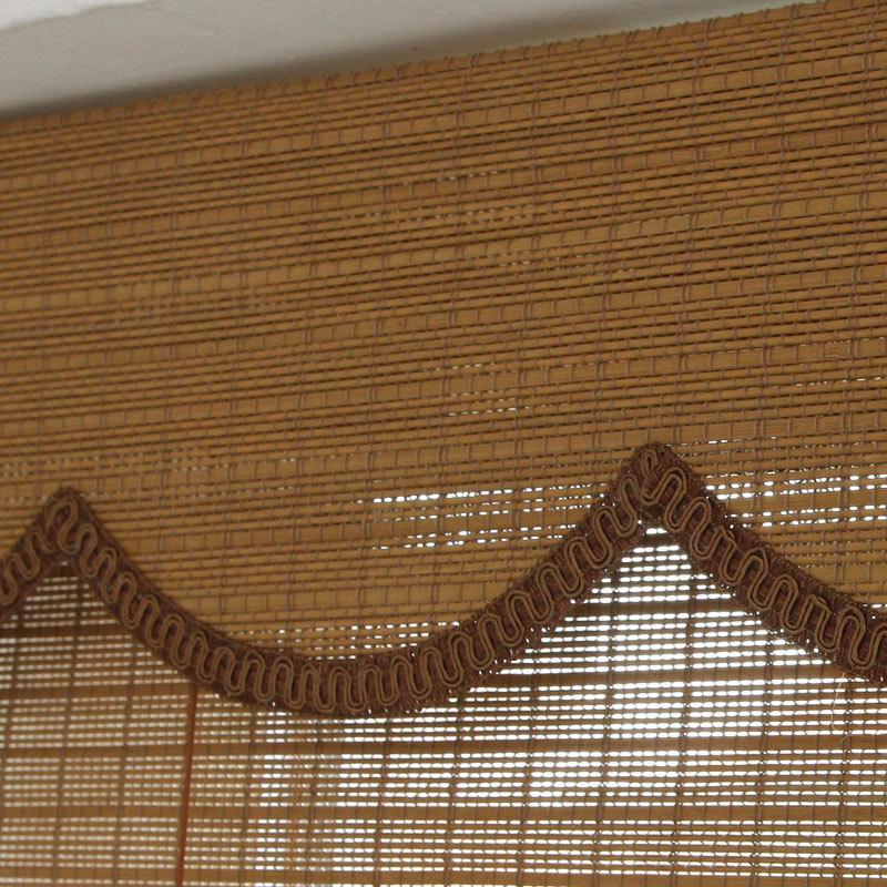Tende bambu manuale e motorizzato dimout tende di bamb - Tende bambu per esterno ...