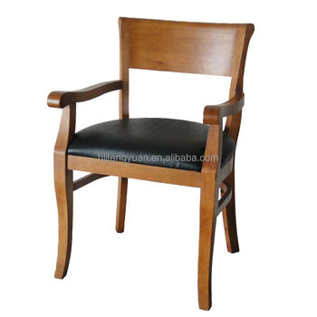 luxury antique wood chair design with arm rest - buy antique wood