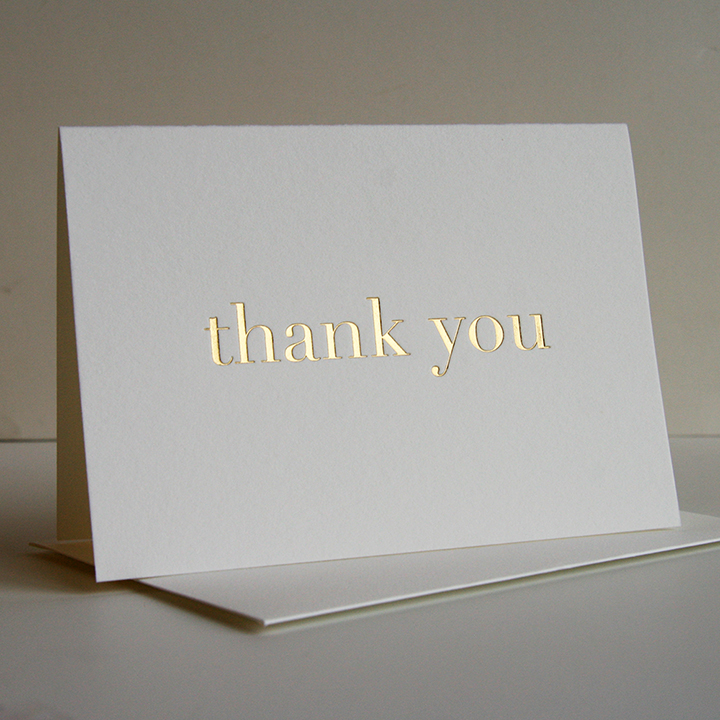 Thank you cards Greeting cards customization using your own logo and design