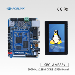 AM335x Microcontroller based Embedded System ARM Cortex-A8 Single Board Computer with 4.3'' TFT LCD better than Raspberry