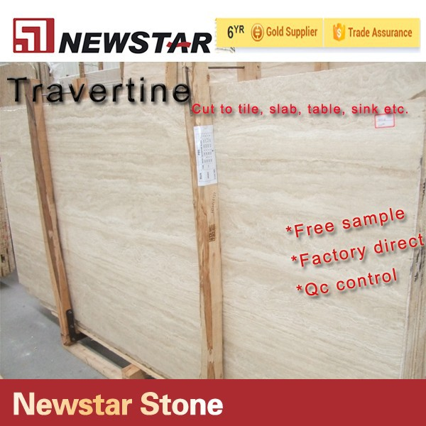 Newstar Natural White Marble Travertine