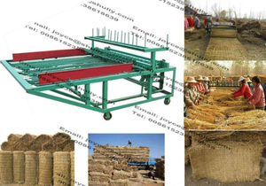 Straw knitting machine/awning straw knitting machine/shed straw mat braiding machine 008615238618639