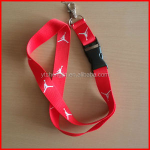 JORDAN Jumpman logo red lanyard for keychain etc. Nike basketball sports