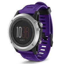26 мм спортивный силиконовый ремешок для часов Garmin Fenix 3HR/3 ремешок для часов Garmin Fenix 3 HR Fenix 5X для мужчин и женщин браслет ремешок для часов(Китай)