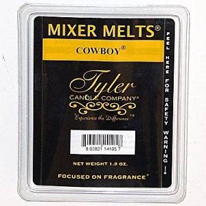 Tyler Candle Mixer Melts Wax Potpourri - Cowboy by Tyler Candle