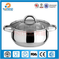 16cm stainless steel covered cooking sauce pan