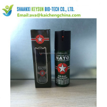 Recommend wholesale customized 20ml high quality pepper spray for self-defense
