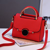 NS1031 Korea Fashion Ladies Casual Plain Leather Handbags
