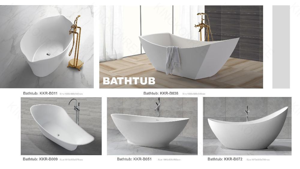 Acrylic Solid Surface Comfortable Oasis Bathtubs