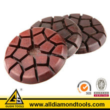 "3"" Metal Bond Wet Diamond Floor Polishing Pad for Concrete"