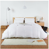100% Pure Cotton King Queen Full Twin Size 40% Whites Goose Down Duvet Quilt Doona Blanket Comforter