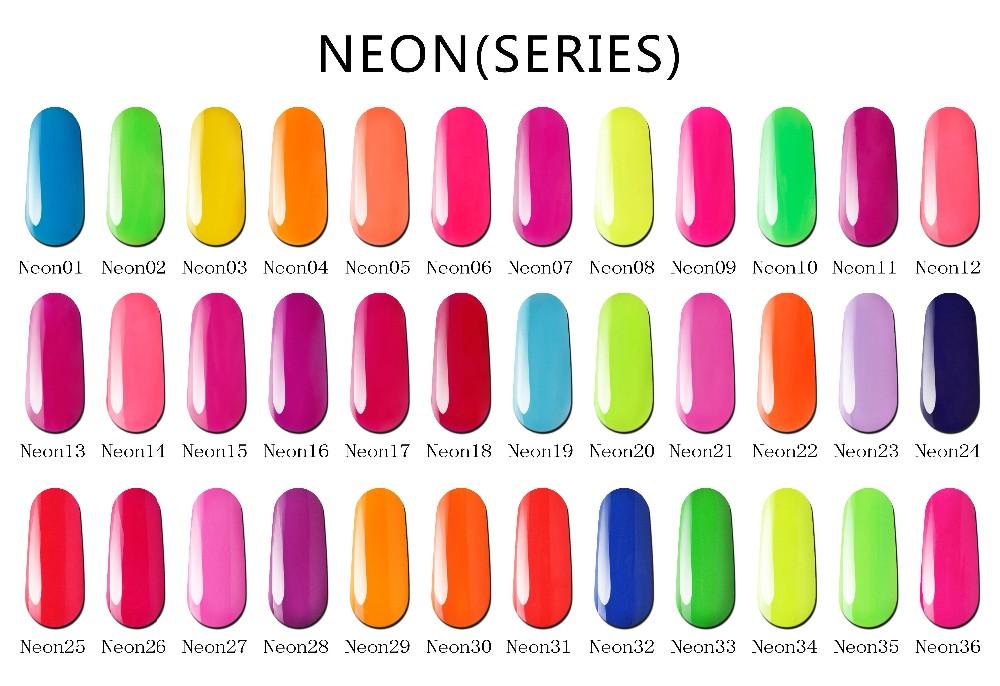 Bluesky Beauty Choices Color Led/uv Neon Nail Gel Polish Brands ...