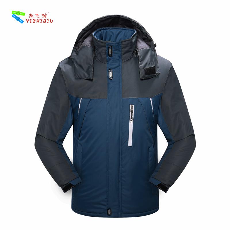 YIZHIQIU Breathable Warm Windbreak Men's Waterproof Outdoor Jacket For Men