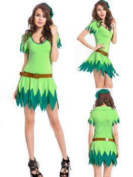 green fairy costume adult tinkerbell tinker bell halloween fancy dress