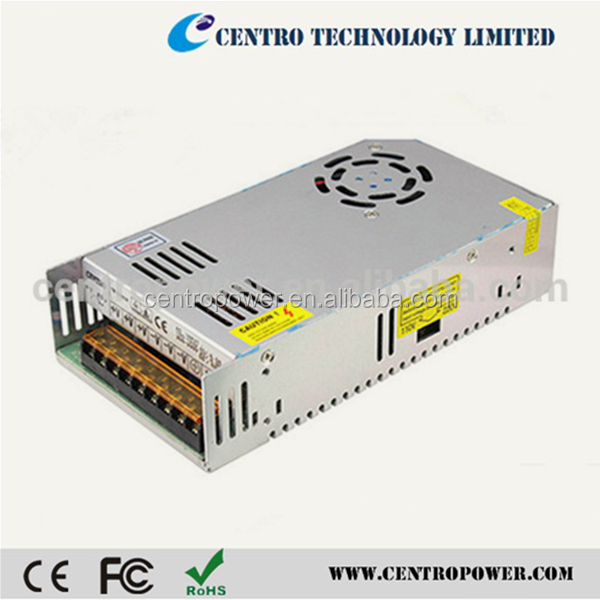 High-Efficency Open Frame Industrial Switch Mode Power Supply / SMPS 12V 30A 360W LED Switching Power Supply